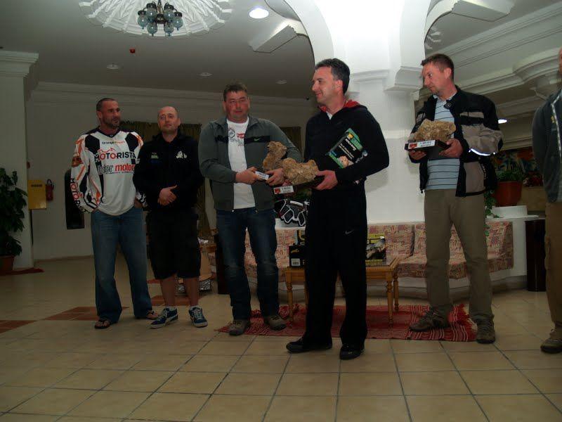 rozdanie nagród Sahara Rally 2012